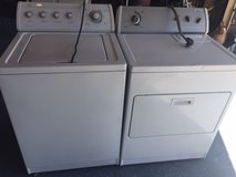whirlpool washer and electric dryer in San Diego, California