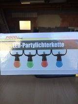 Outdoor party lights NIB in Ramstein, Germany