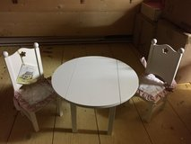 Doll Table and Chairs (never used) in Ramstein, Germany