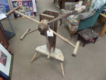 Antique Weasel Yarn Winder in Cherry Point, North Carolina