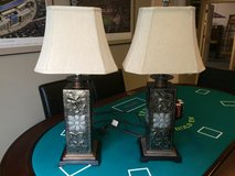 Lamps, matching pair, perfect condition. in Bolingbrook, Illinois