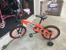 Great condition- hardly used boys bike in Camp Lejeune, North Carolina