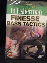 In-Fisherman Finesse Bass Tactics DVD in Fort Campbell, Kentucky