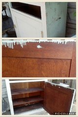Wonderful Old Oak Weathered Cabinet in New Lenox, Illinois