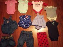 baby girl clothing lot in Spring, Texas