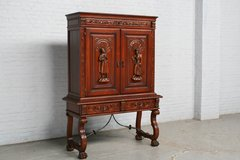 Cabinet Spanish France Mahogany 1950 (Ref.nr. 7178) in Ramstein, Germany