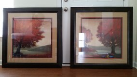 "(Set of 2) Wall Decor Framed Arts ""Escape"" & ""Solitude"" by Edward Raymes 36"" x 36"" in Camp Lejeune, North Carolina"