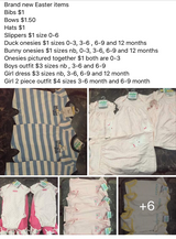 Brand new Easter clothes in Hinesville, Georgia
