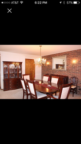 Dining Room table, cabinet and buffet in Elgin, Illinois