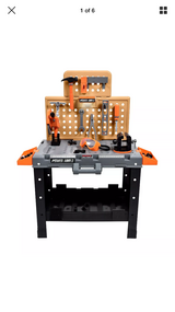 Maxx Action 55-piece Deluxe Power Tool Toy Workshop in Morris, Illinois