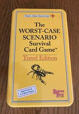 The Worst-Case Scenario Survival Card Game - Travel Edition in Bartlett, Illinois