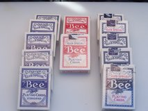Deck of cards in Alamogordo, New Mexico