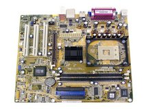 ASUS P4S800-MX Socket 478 DDR400 SiS 661F Motherboard in Watertown, New York