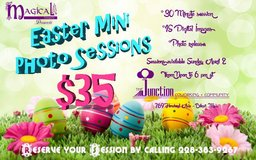 Easter Mini Sessions in Biloxi, Mississippi