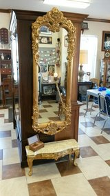 Large Mirror and Marble Table in Fort Leonard Wood, Missouri