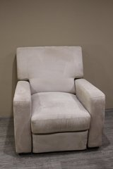 Off-White Modern Recliner in Tomball, Texas