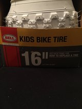 "16"" Kids Bicycle tire White Bell Bike Tire in Fort Campbell, Kentucky"