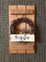 Rustic Welcome Sign in Alamogordo, New Mexico