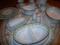 noritake/limoges 2 complete china settings for 12  perfect w all xtras in Morris, Illinois