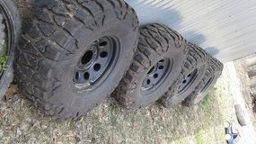 "35"" Nitto Mudd Grappler tire set in Little Rock, Arkansas"