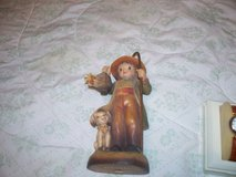 Anri carved wood figurine signed/dated  / made in italy in Morris, Illinois