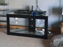 Glass Shelf TV Stand in 29 Palms, California