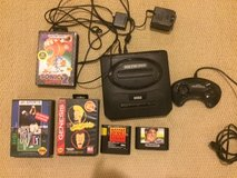Sega-Genesis-Model-2-Black-Console-Controler and Games-MK-1631 in Aurora, Illinois