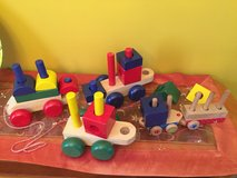 Toddlers /babies wooden toys /cars/shapes lot in Chicago, Illinois
