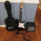 IBANEZ ELECTRIC Gio Guitar, DIGITAL TUNER, SHOULDER STRAP AND GIG BAG in Perry, Georgia