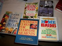 Lots of Home Remedy/ Natural Cure Books in Fort Benning, Georgia