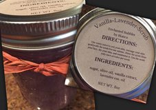 Homemade Vanilla-Lavender-Body Scrub in Alamogordo, New Mexico