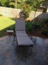 Outdoor patio furniture --Chaise Lounger with cushion in Montgomery, Alabama