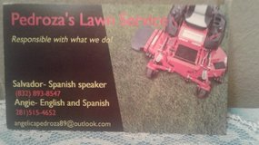 PEDROZA'S LAWN SERVICE in Baytown, Texas
