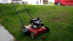 Lawnmower in Camp Pendleton, California