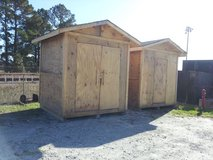Two  8 x 10 Storage Buildings in Camp Lejeune, North Carolina