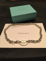 Tiffany & Co Silver Return To Tiffany Oval Necklace in Conroe, Texas
