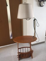 End Table with Lamp in Okinawa, Japan