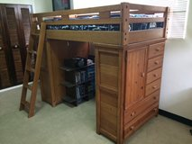 Bunk Bed with dressers (can be used as loft bed) in Okinawa, Japan