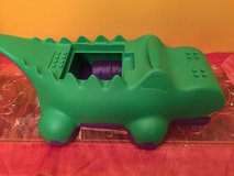 LEGO DUPLO BLOCK-O-DILE GOBBLE GATOR Alligator Duplo Lego Blocks Sweeper Brick Storage in Morris, Illinois