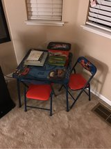 Cars table and Chairs in Fairfield, California