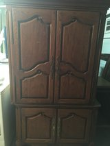 Antique oak armoire in Vista, California