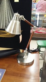 Wood & Stainless Desk Lamp (2221-110) in Camp Lejeune, North Carolina