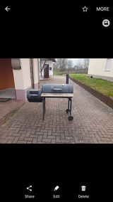 CharBroil Slow Smoker-Grill Combo PCS FRIE in Ramstein, Germany