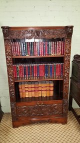 Carved Oak Bookcase free delivery others available in Alconbury, UK