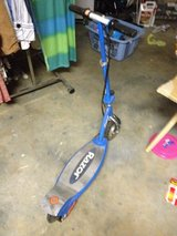 Razor electric scooter/ needs power cord to charge battery. in Perry, Georgia