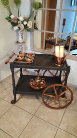 solid wood serving Cart in Ramstein, Germany