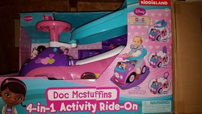 Brand Disney Doc McStuffins 4 in 1 Activity Ride On in Fort Campbell, Kentucky