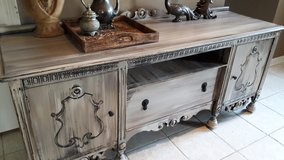 Antique Rustic TV Stand in Baytown, Texas