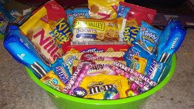 GOODY BASKET- WILL BE WRAPPED IN CELLOPHANE AND HAVE RIBBON in Beaufort, South Carolina