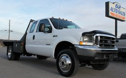 2004 Ford F-450 Ext Cab DRW 4x4 Flatbed LOW MILES CLEAN SOUTHERN TRUCK in Lexington, Kentucky